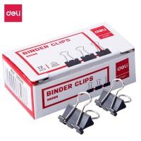 Deli E38566 Office Consumable/Binder Klip-Binder Clips 15mm