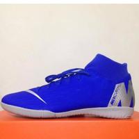 Sepatu Futsal Nike Superfly 6 Academy IC Racer Blue AH7369-400