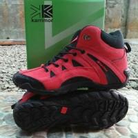 Sepatu Naik Gunung Karrimor Outdoor Hiking Sneaker - Hitam, 39