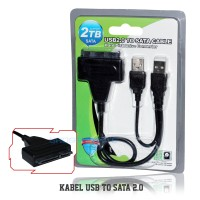 Kabel SATA To USB 2.0 HDD Or SSD Adapter Converter