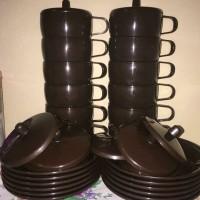 cangkir hoya cokelat