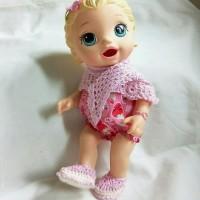 Baju Perlengkapan Aksesoris Boneka Baby Alive BB002a