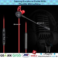 Remax Gaming Earphone dengan Detachable Mic - XII-CJ101 Like Razer
