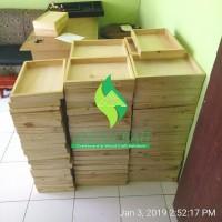 20x30cm Hampers Wooden Box seserahan kotak parcel kayu hantaran