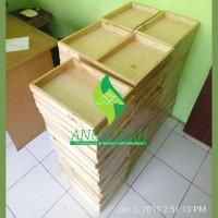 25x35cm Hampers Wooden Box seserahan kotak parcel kayu hantaran
