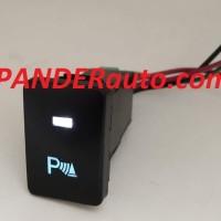 Switch Saklar Xpander dual led putih biru sensor parkir push start