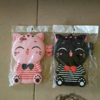 case boneka kucing oppo A39/A57