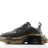 Sneakers Balenciaga Triple S Grey Mirror Quality 1:1 PK GOD
