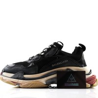 Sneakers Balenciaga Triple S Black Mirror Quality 1:1 PK God