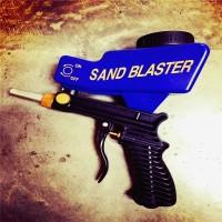 Sandblaster Pembersih Karat Alat Sandblast Soda Sand Blaster Portable