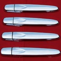 Cover handle pintu chrome Mobil Calya Sigra