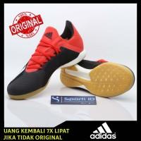Sepatu Futsal Adidas X Tango 18.3 IN Black Red BB9391 Original