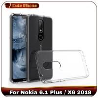 Casing Nokia 6.1 Plus 61 2018 Premium Soft Case Clear Silikon Softcase