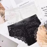 Bra Cewek Murah JdF Shop Lace Panties Celana Dalam Brokat Transparant