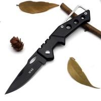 Pisau Saku Kecil Mini Lipat EDC Pocket Knife Tactical Survival Kit W46