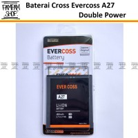 Baterai Cross Evercoss A27 Original Double Power | Batre, Evercross HP