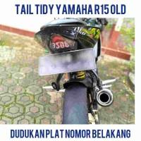 tail tidy YAMAHA R15 OLD dudukan plat nomor belakang