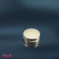 MAGNET NEODYMIUM SUPER KUAT 25x3 mm COIN