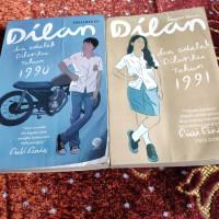 novel dilan 1 dan 2 ( 2 buku)