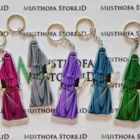 Gantungan Kunci Muslimah / Ganci Muslimah Cantik