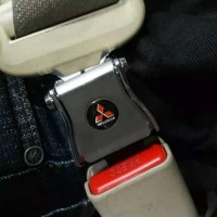 colokan safety belt logo 2 in 1 mitsubishi Xpander
