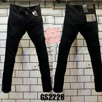 Celana panjang jeans GUESS PREMIUM BLACK skinny fit import Quality