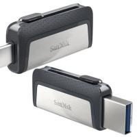 Sandisk Ultra Dual Drive USB TYPE-C 32GB Flashdisk OTG Type C