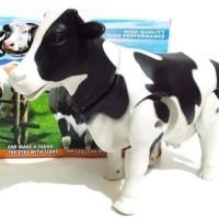 Funny Toy Milking Cow ( Sapi Perah) lampu,suara,gerak