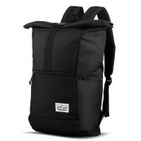 Tas Ransel Laptop Gulung Rolltop Backpack Rucksack - Atva Groove Black