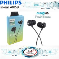 Headset Philips Extra Bass AT 059 Handsfree Earphone