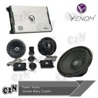 Paket Audio Venom Baby Diablo Mobil Yaris 2008 2013