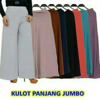 Celana Kulot Panjang Wanita SUPER BIG JUMBO Crepe