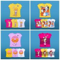 ECER Kaos Baby Victory Girl Size 1,2,3,4T Atasan Baju Anak Perempuan