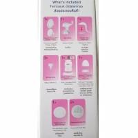 pompa asi pegeon manual / pigeon breast pump manual
