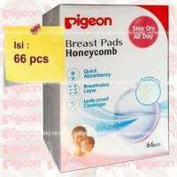 Pigeon Breast Pad isi 66 pcs - Breastpad Honeycomb 66pcs - Babyfb