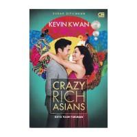 CRAZY RICH ASIANS (KAYA TUJUH TURUNAN) - (JAKET COVER FILM)