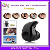 Headset Bluetooth S530 Handsfree Headphones Earbud Mini S530 / S-530