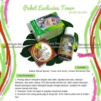 Paket Batrisyia Acne Exclusive Toner u/ Kulit Berminyak & Berjerawat