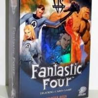 Marvel Trading Card Game TCG VS System Fanstastic Four Kartu Deck