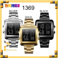 Jam Tangan Pria / SKMEI DG 1369 Men / Jam Tangan Digital LED Original