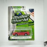 Greenlight diecast motor world pontiac firebird trans am