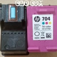 RECONDISI TINTA HP 704 COLOUR
