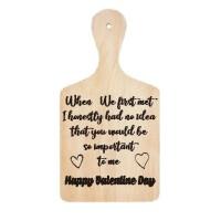 Stiker Talenan When We Met Kado Valentine Sticker Dekorasi Dinding Wal