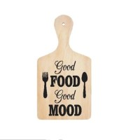 Stiker Talenan Good Food Good Mood Sticker Dekorasi Dinding Wall Decor