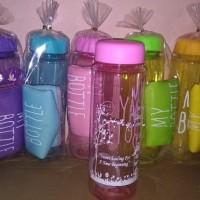 my bottle warna/free sablon nama/souvenir pernikahan/souvenir Jakarta