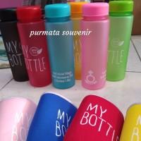 my bottle doff warna/my bottle free sablon nama/souvenir pernikahan