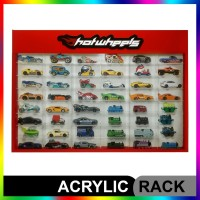 Rak Hotwheels Acrylic Slim Fit Edition ISI 48 PIntu Sleeding 1:64