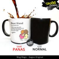 KADO ULTAH TEMAN - Kado Custom Unik | Mug Bunglon Magic - Friendship2