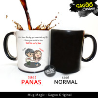 Original - Kado Unik Hadiah Romantis | Mug Bunglon Magic - Romantic 8