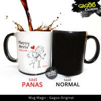 ORIGINAL - Kado Anniversary Unik Hadiah | Mug Bunglon Magic - Anniv 3